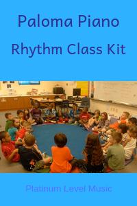 Paloma Piano - Rhythm Class Kit