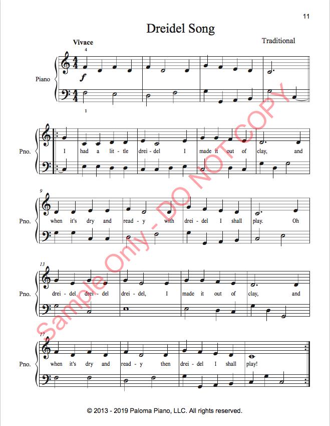 Paloma Piano - Holiday Sing-A-Long 11