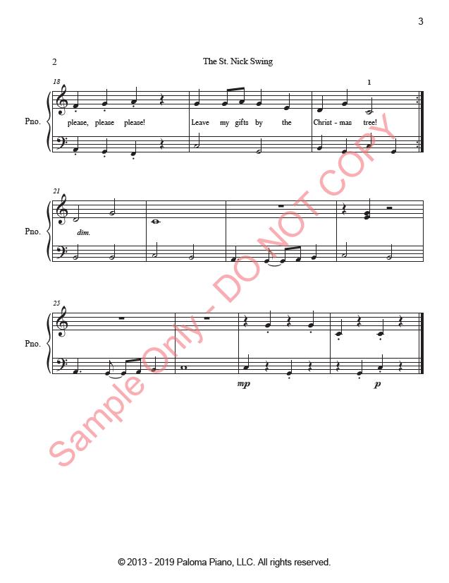 Paloma Piano - St. Nick Swing - Page 2