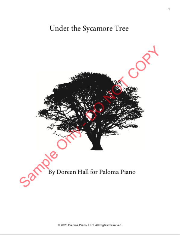 Paloma Piano - Under the Sycamore Tree - Page 1