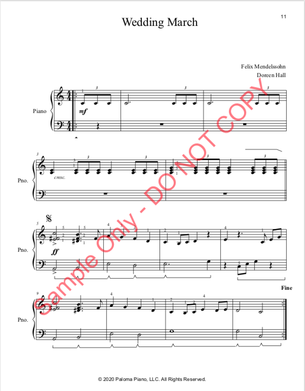 Paloma Piano - Valentine's Day Collection - Page 11