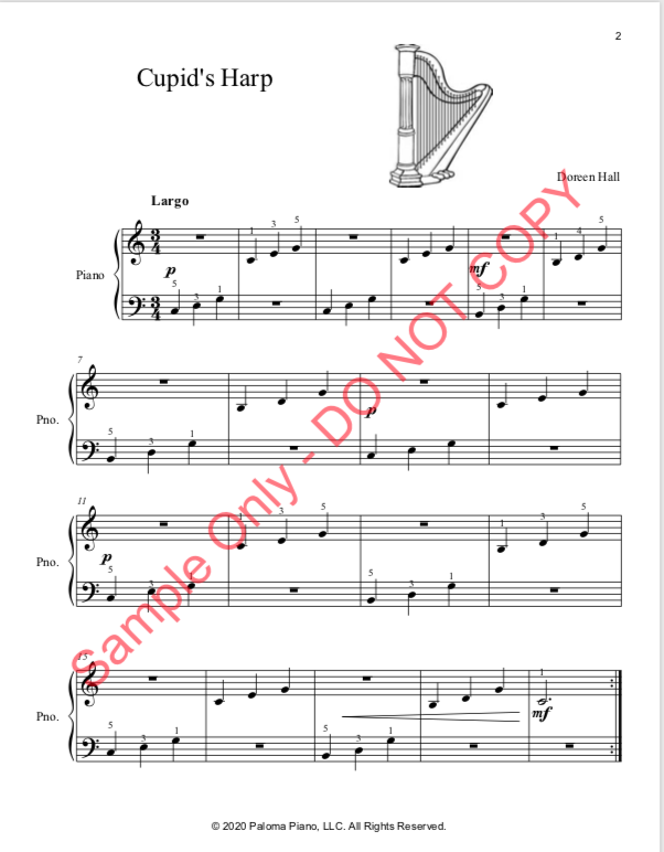 Paloma Piano - Valentine's Day Collection - Page 2