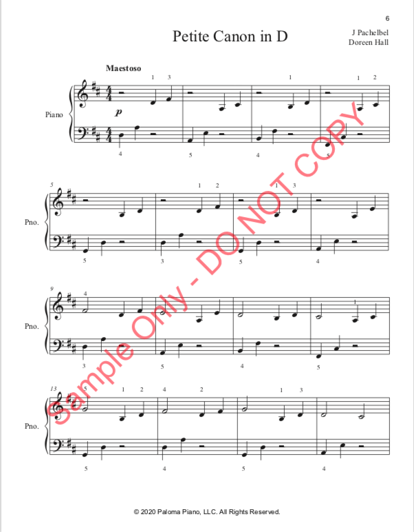 Paloma Piano - Valentine's Day Collection - Page 6