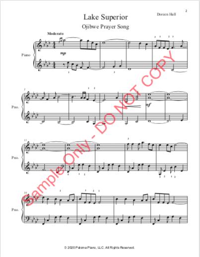 Paloma Piano - Lake Superior - Page 2