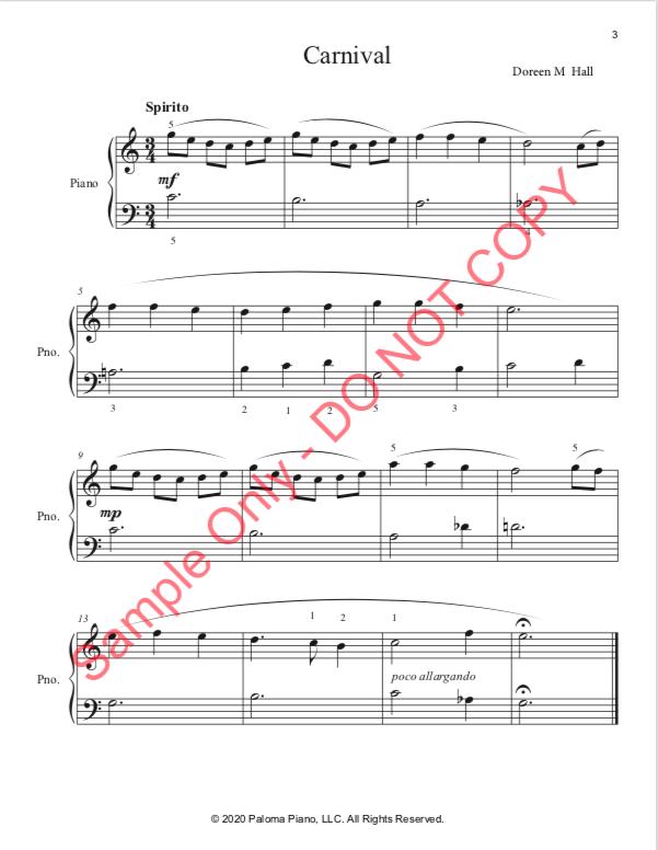 Paloma Piano - At the Carnival - Page 3