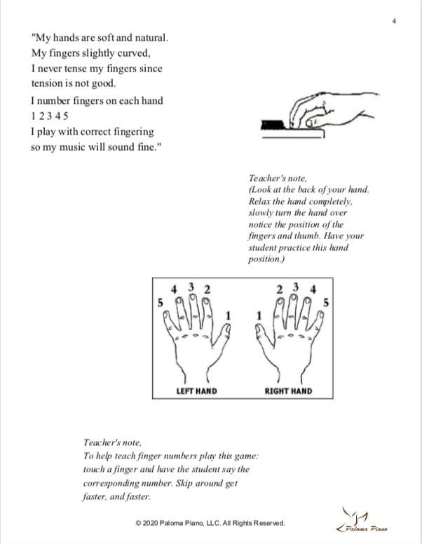 Paloma Piano - Petite People's Primer Lessons 1, 2 and 3 - Page 4