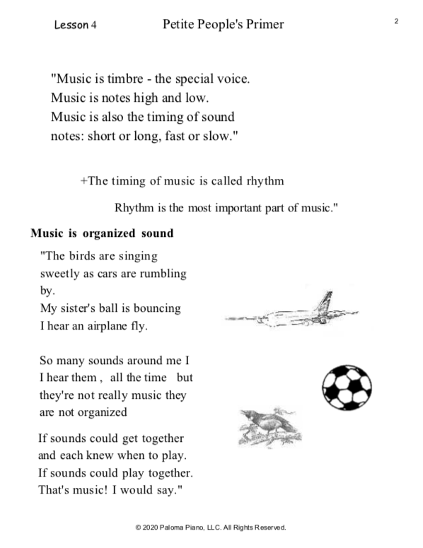 Paloma Piano - Petite People's Primer Lessons 4, 5 and 6 - Page 2