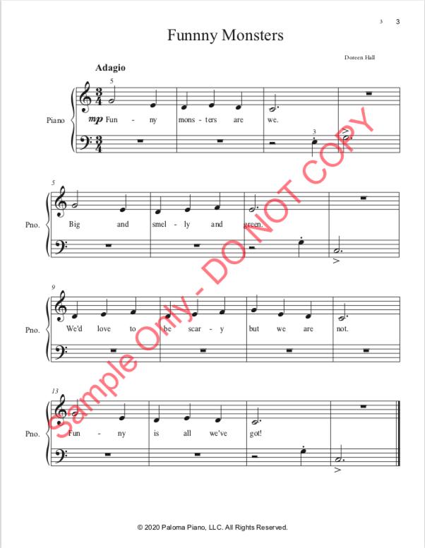 Paloma Piano - Halloween Treats - Page 3