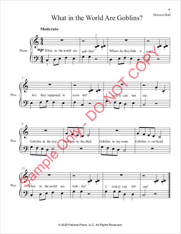 Paloma Piano - Halloween Treats - Page 4