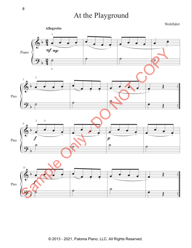 Paloma Piano - First Classics Collection - Page 8