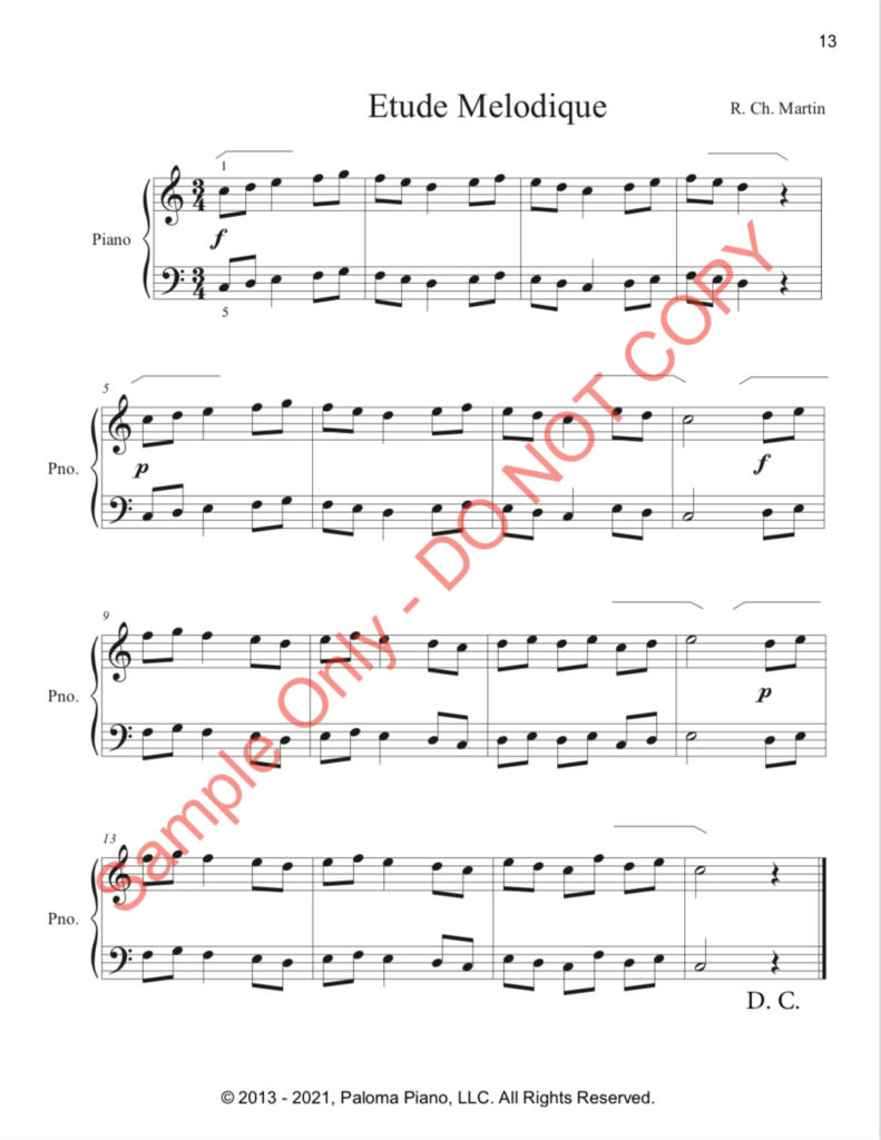 Paloma Piano - First Classics Collection - Page 13