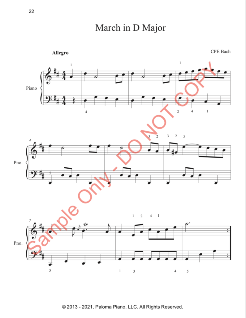 Paloma Piano - First Classics Collection - Page 22