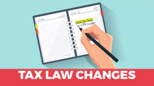 2019 IRS Tax Changes