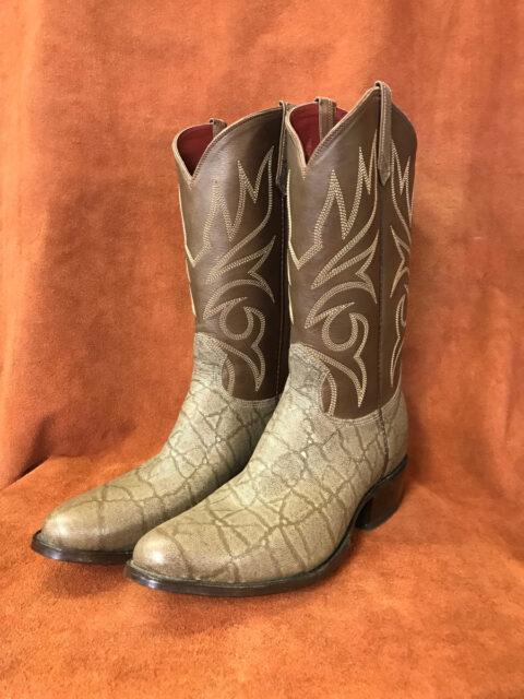 Elephant Print Cowboy Boots
