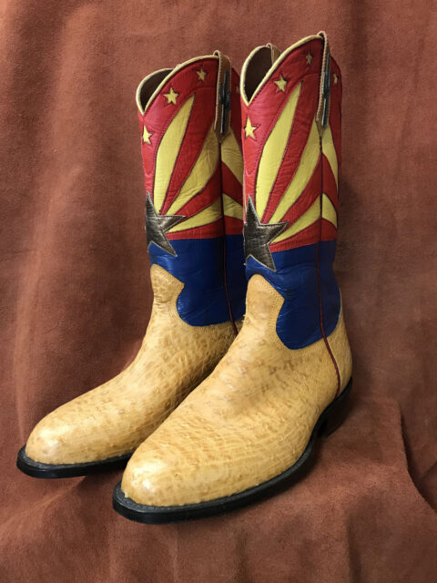 arizona flag cowboy boots