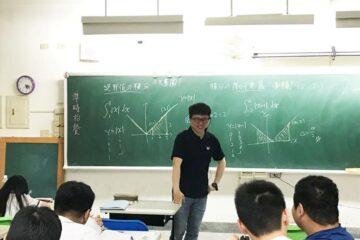 東工夜校陳昱達老師,義務指導學生數學有成