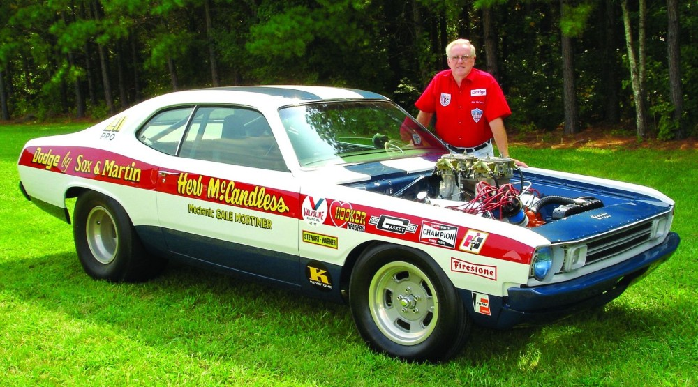 Herb McCandless with 1972 Dodge Demon