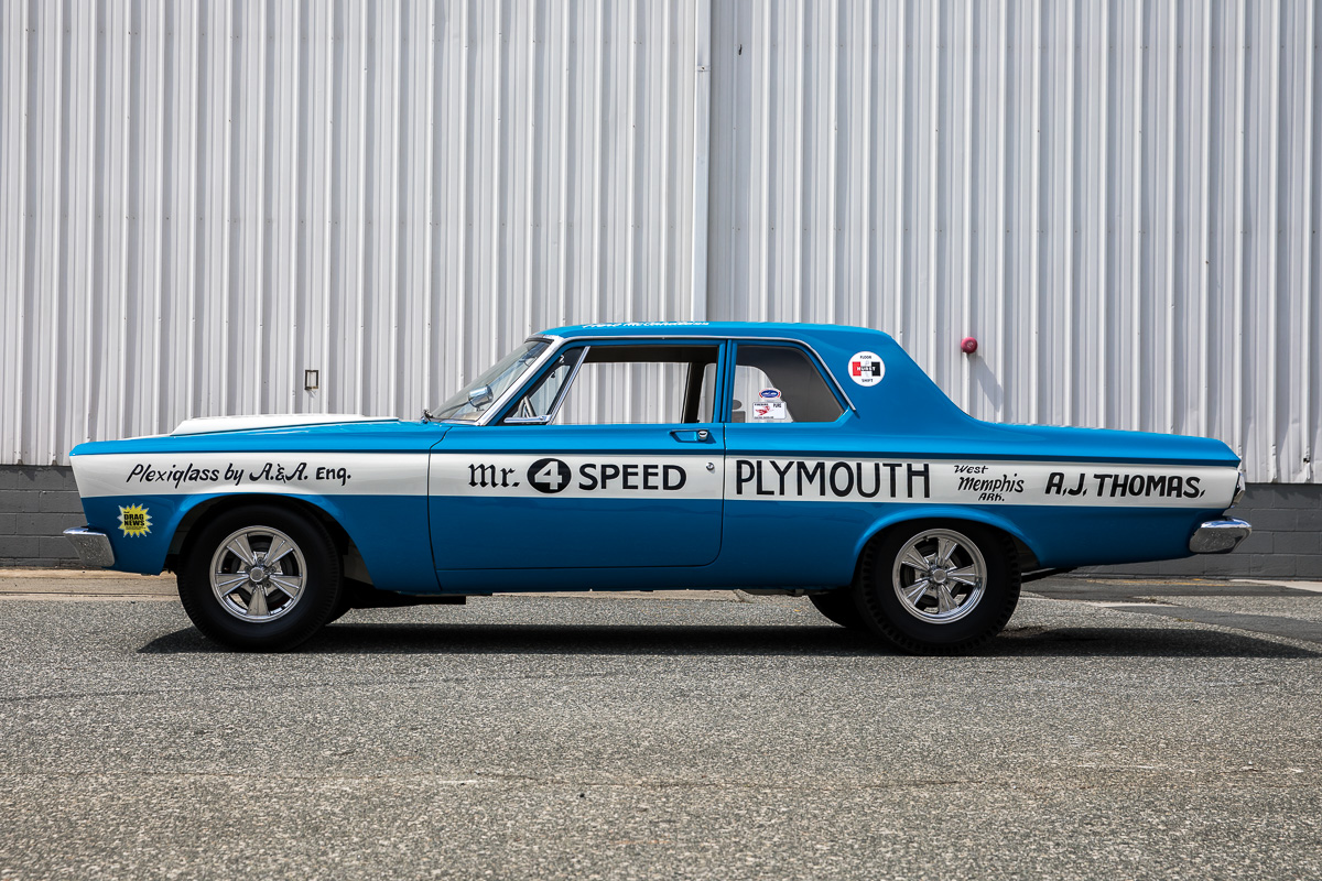 1965 Plymouth – Mr. 4 Speed A990 (clone)