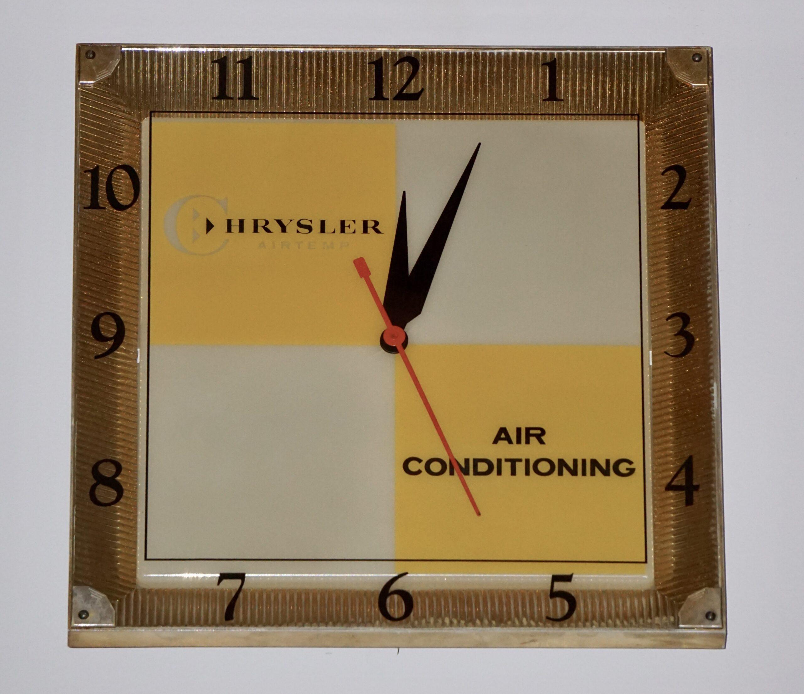 Chrysler Air Conditioning Clock