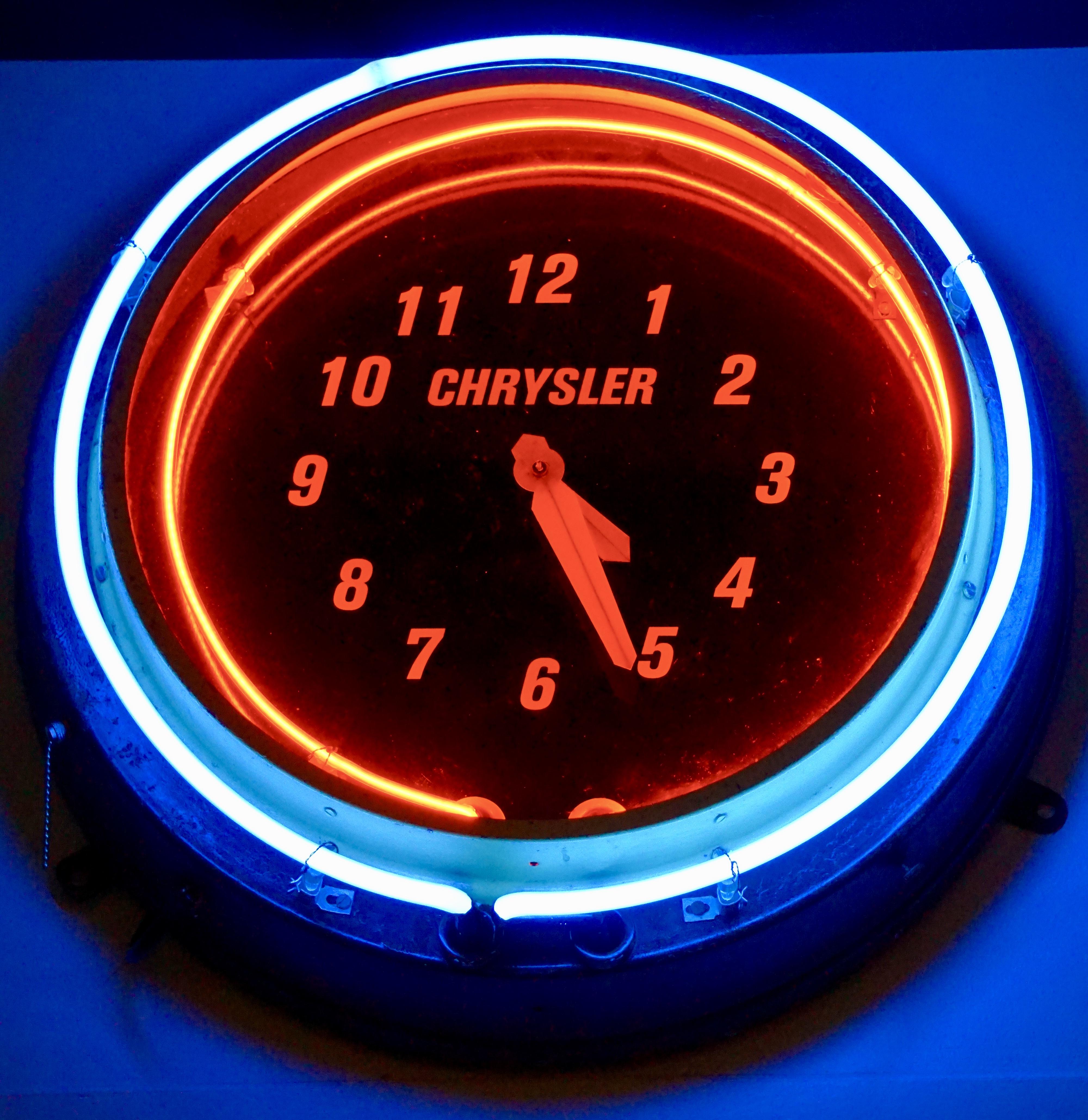 Chrysler Clock
