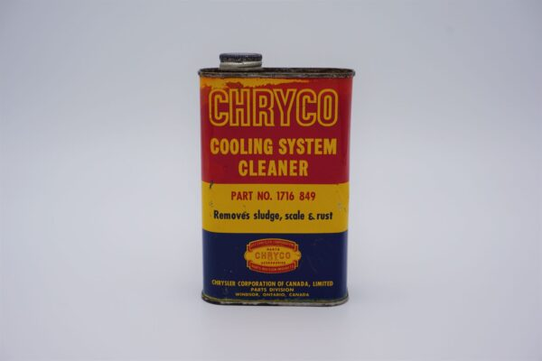 Antique Chryco Cooling System Cleaner, 16 oz can.