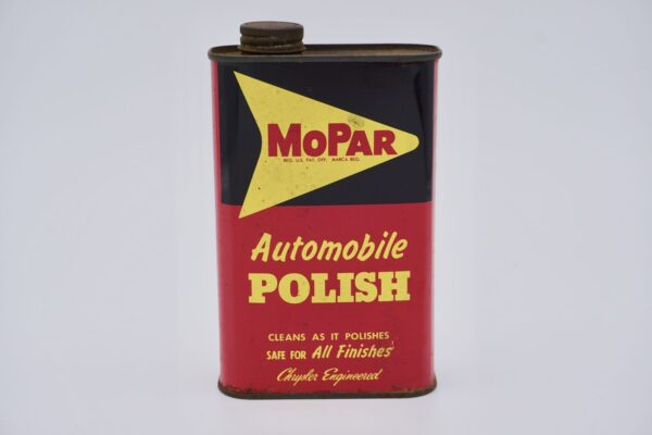 Antique Mopar Automobile Polish Can, 1 Pint.