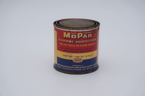Antique Mopar Chrome Protector, 8 oz can.