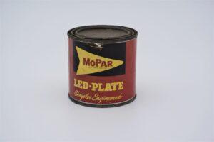 Antique Mopar Led-Plate, 1 pound can.