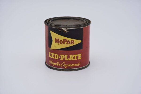 Antique Mopar Led-Plate, 1 pound can.