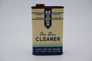 Antique Mopar Pre-Wax Cleaner, 16 oz. can.