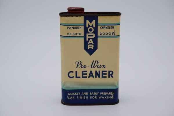 Antique Mopar Pre-Wax Cleaner, 16 oz. can.
