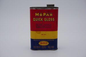 Antique Mopar Quick Gloss, one pint can.