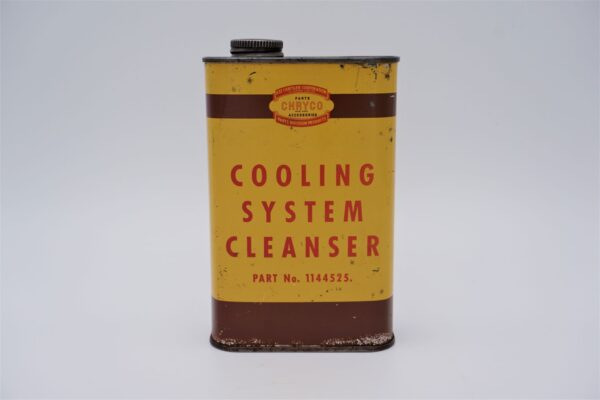 Antique Chryco Cooling System Cleanser, 12 oz can.