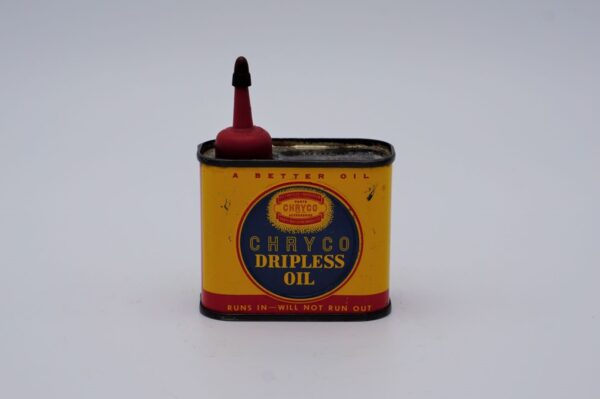 Antique Chryco Dripless Oil Can