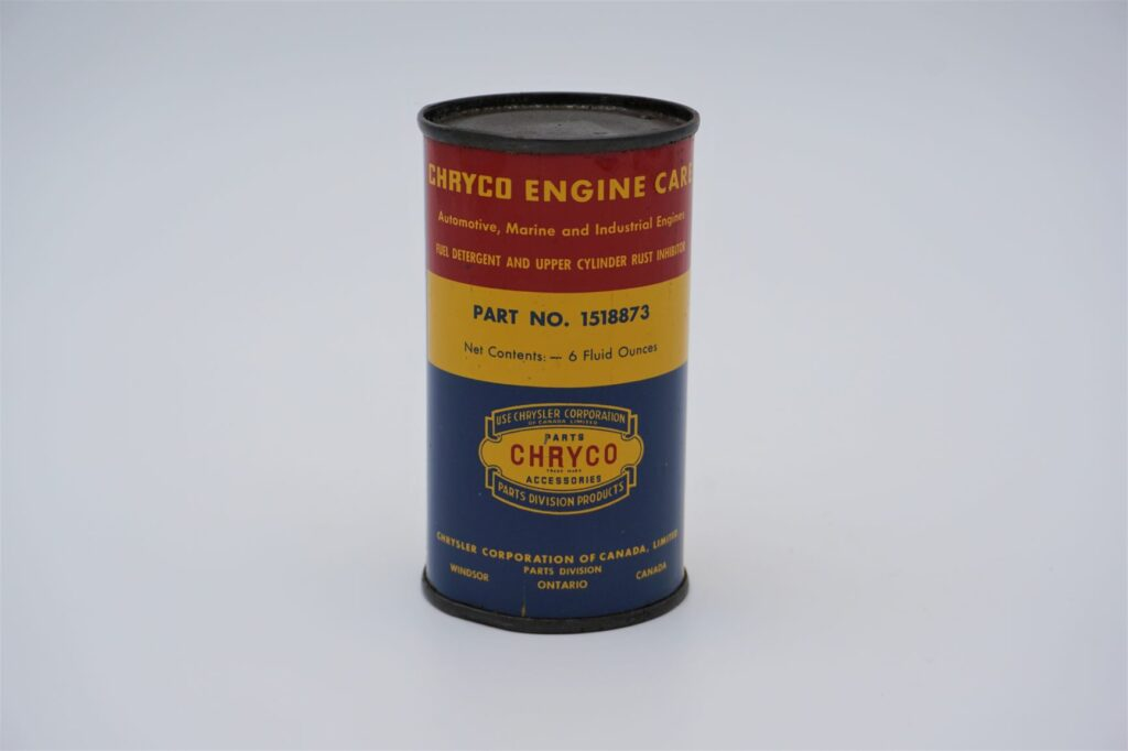 Antique Chryco Engine Care, 6 oz can.