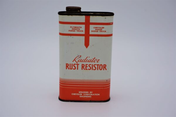 Antique Chryco Radiator Rust Resistor can, 1 imperial pint.