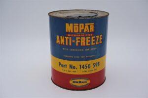 Antique Mopar Anti Freeze, 1 gallon can.