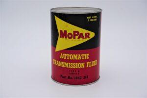 Antique Mopar Automatic Transmission Fluid, 1 quart can.