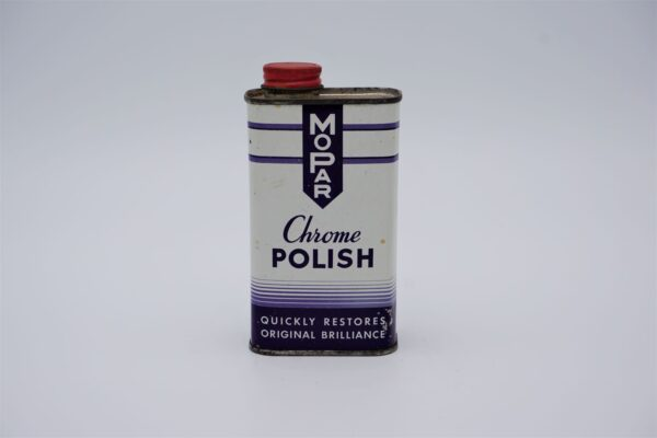 Antique Mopar Chrome Polish, 8 oz can.
