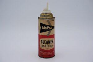 Antique Mopar Cleaner & Polish, 12 oz aerosol can.