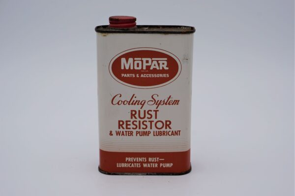 Antique Mopar Cooling System Rust Resistor, 1 pint can.