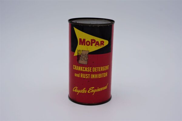 Antique Mopar Crankcase Detergent & Rust Inhibitor can, 16 oz.