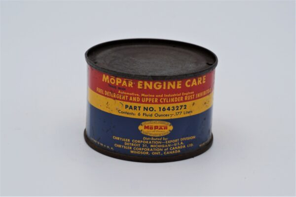 Antique Mopar Engine Care can, 6 oz.