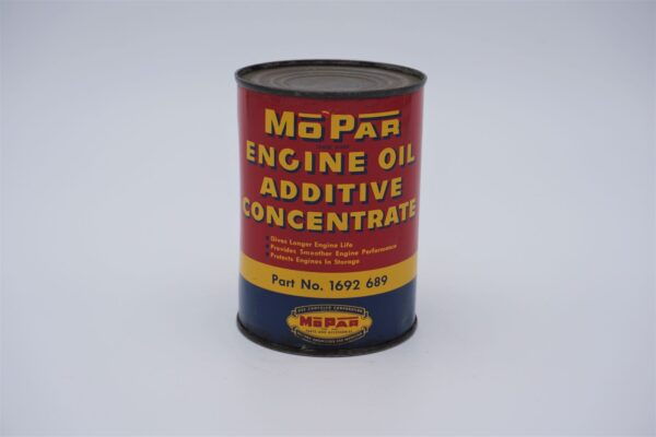 Antique Mopar Engine Oil Additive Concentrate, 15 oz can.