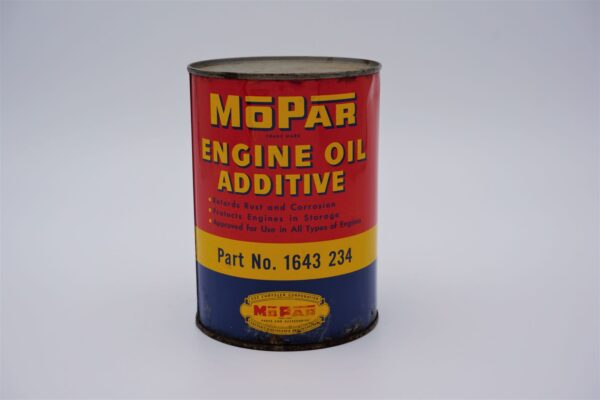 Antique Mopar Engine Oil Additive, 1 quart can.