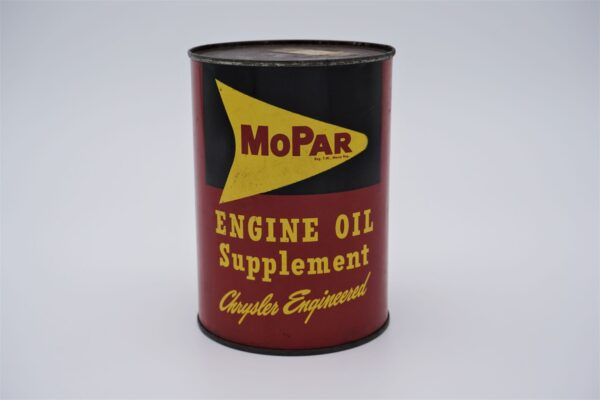 Antique Mopar Engine Oil Supplement, 8 oz can.