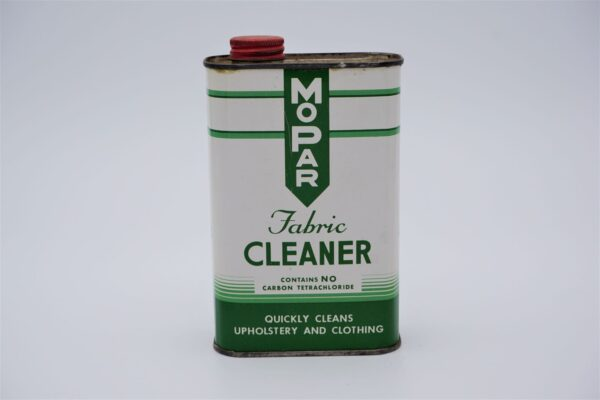 Antique Mopar Fabric Cleaner, 1 pint can.