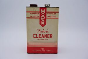 Antique Mopar Fabric Cleaner can, 128 oz.