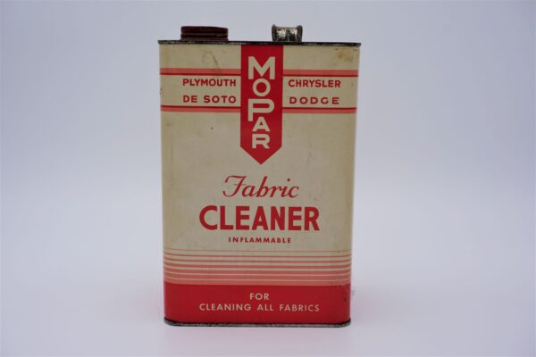Antique Mopar Fabric Cleaner can, 128 oz.
