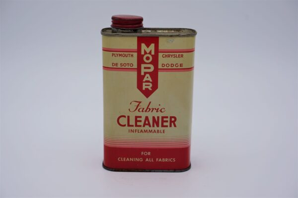 Antique Mopar Fabric Cleaner, Inflammable, 16oz can.